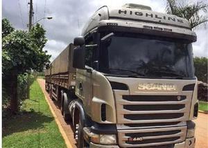 Scania g 440 6x4 ano 2013 com bitrem 9 eixos 2011