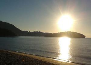 Ano novo especial na praia de garatucaia angra dos reis