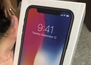 Iphone X - NOVO na caixa