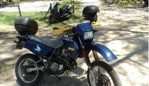 Vendo honda xlx 350 azul anomodelo 1990 toda ok 2018 ok rj