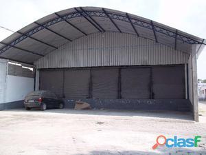 Aluguel de galpão   jacaré – 1.000 m2   condomínio   guarita   segurança