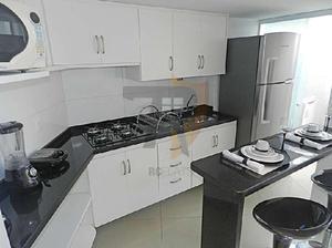 Flat com 1 quarto para alugar, 45 m² por r$ 2.350/mês
