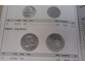Vendo moedas antigas de réis 1901 por r$80 o