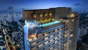 Apartamento com 1 quarto à venda, 27 m² por r$ 352.000