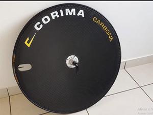 Roda traseira corima rigida carbone