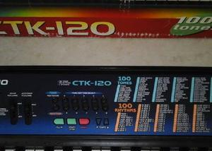 Teclado eletrônico ctk-120 casio
