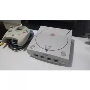 Console sega dreamcast na caixa japonês