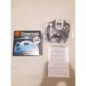Controle dreamcast completo caixa manual charcoal anthracite