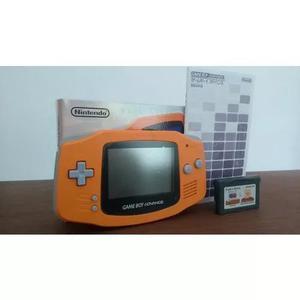 Game boy advance orange original impecável