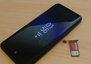 Samsung galaxy s8 plus lacrado
