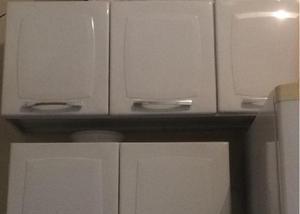 Vendo 2 armarios de cozinha semi novo