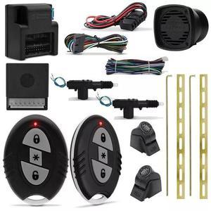 Alarme automotivo h-buster hba universal + trava elétrica
