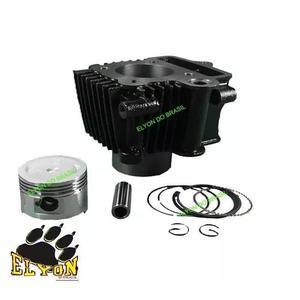 Kit cilindro pistão anéis shineray traxx de 50cc para 90cc