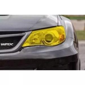 Película adesivo amarela ouro p/ lanterna e farol carros