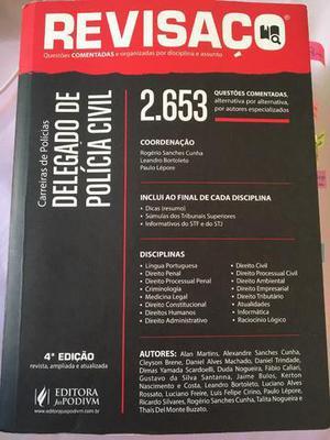 Revisaço delegado de polícia civil - 4a edição