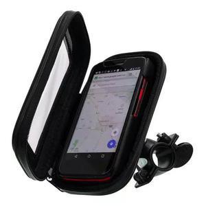 Suporte capa celular à prova d'água 6,3'' gps moto bike