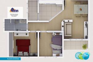 Apartamento com 2 quartos à venda, 46 m² por r$ 210.000