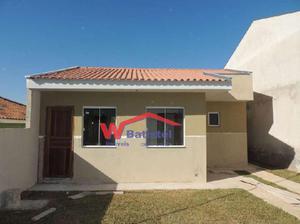 Casa com 3 quartos à venda, 52 m² por r$ 155.000