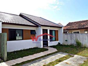 Casa com 3 quartos à venda, 60 m² por r$ 189.000