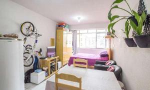 Kitnet com 1 quarto à venda, 25 m² por r$ 200.000