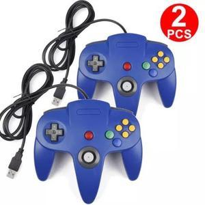 2pc longo vídeo jogo almofada joystick controlador jogo sis