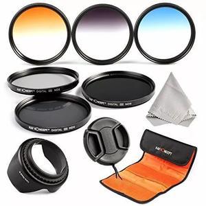 52mm filtro, k&f concept 52mm (nd2 lente profissional kit de