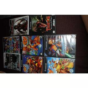 8 jogos games cube 690 reais lote