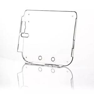 Alloet novo transparente plástico duro protetor caso concha