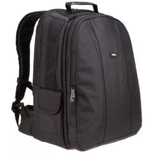 Amazonbasics dslr e laptop mochila - interior cinza
