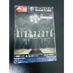 Biohazard game cube original japonês