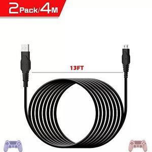 Birgus ps4 micro usb carregador cabo, carregador controlado