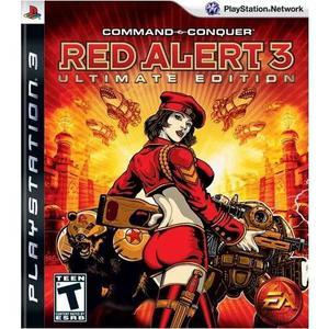 Comando & conquistar vermelho alert 3 - playstation 3