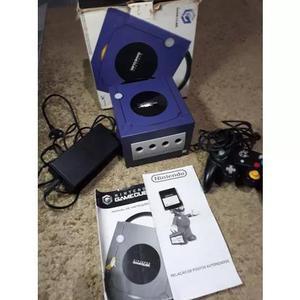 Console nintendo game cube - com caixa original