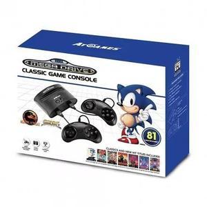 Console sega genesis classic fb8280c preto 81 jogos