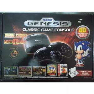 Console sega genesis mega drive classic 80 jogos s