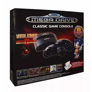 Console sega gênesis mega drive 80 games clássicos