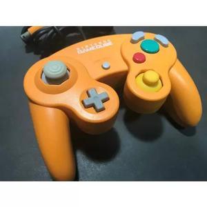 Controle gamecube laranja japonês