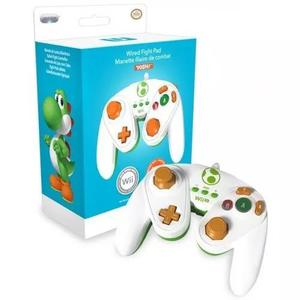 Controle gamecube yoshi wii wii u gc classic controller