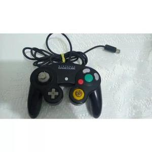 Controle original de game cube preto