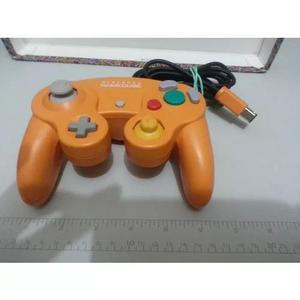 Controle original game cube japonês (laranja) lindo!!