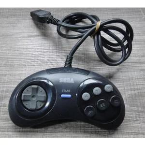 Controle original mega drive japones 6 botões sega 5605