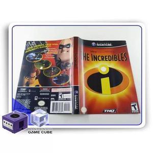 Encarte the incredibles original gamecube