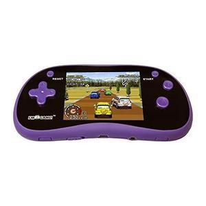 Eu estou jogo handheld jogo jogador com 3 cor exibição e 1