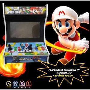 Fliperama bartop arcade adesivado recalbox 17