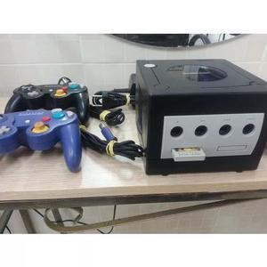 Game cube com 3 jogos originais