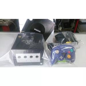Game cube completo na caixa + 2 jogos + 1 controle