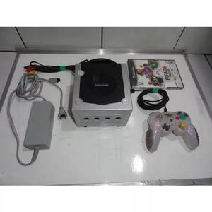 Game cube gamecube console completo só jogar c05