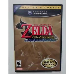 Gamecube legend of zelda wind waker completo com extras