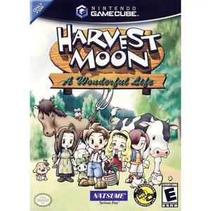 Harvest moon a wonderful life lacrado gamecube nintendo gc