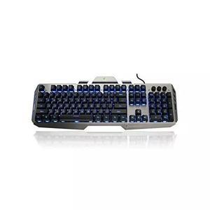 Iogear kaliber gaming hver alumínio gaming teclado - preto